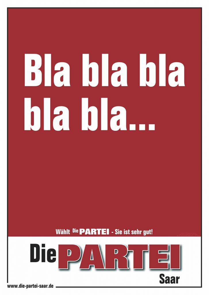 Bla bla bla bla bla…